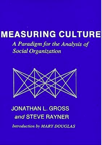 Measuring Culture: A Paradigm for the Analysis of Social Organization